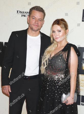 Matt Damon and Abigail Breslin