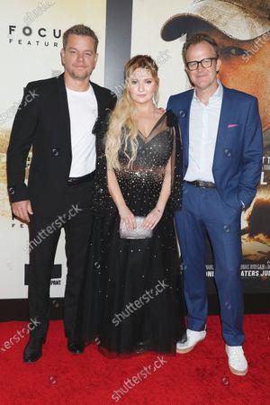 Matt Damon, Abigail Breslin and Tom McCarthy