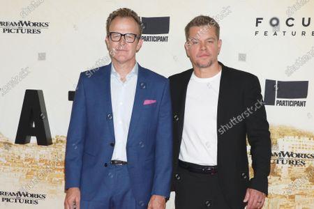 Tom McCarthy and Matt Damon