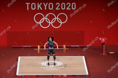 Editorial photo of Olympic Games 2020 Weightlifting, Tokyo, Japan - 27 Jul 2021