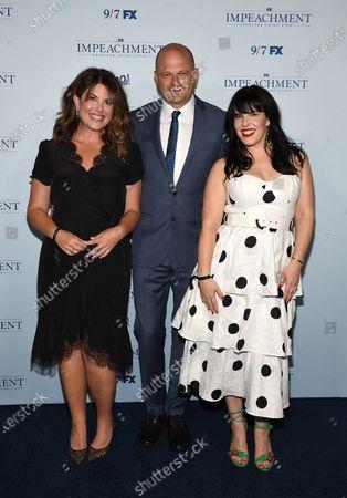 Stock Image of Monica Lewinsky, Brad Simpson, Alexis Martin Woodall
