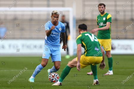 Editorial picture of Manchester City v Preston North End, Pre-season Friendly, Football, Manchester City Academy Stadium, Manchester, UK - 27 July 2021