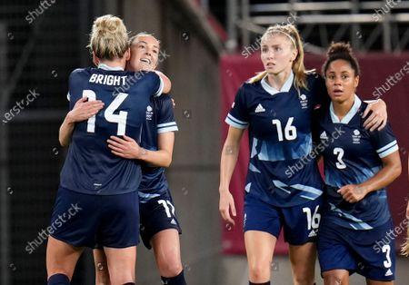 Editorial photo of Tokyo Olympics Soccer, Kashima, Japan - 27 Jul 2021