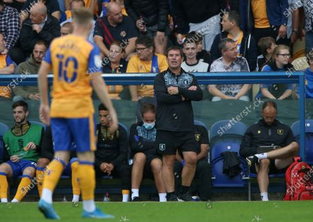 Stock Image of Mansfield Town's manager Nigel Clough