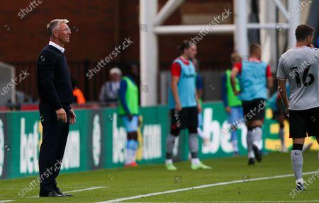Manager Nigel Adkins of Charlton Athletic