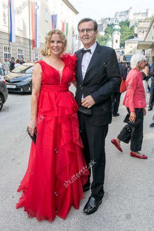 Katja Burkard and Mann Hans Mahr