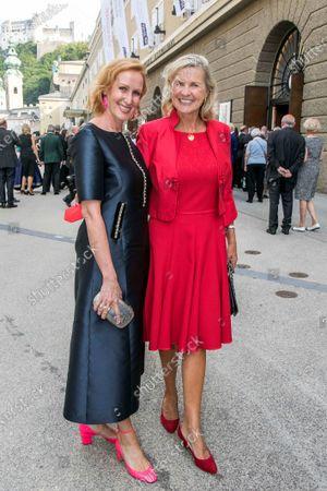 Stock Photo of Nicole Beutler and Hera Lind bourgeois Herlind Wartenberg