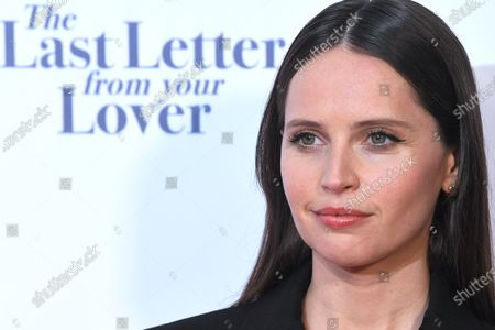 'The Last Letter From Your Lover' premiere, London