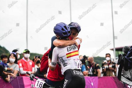 Rocio del Alba Garcia Martinez (ESP) - Cycling : Women's Cross-country during the Tokyo 2020 Olympic Games at the Izu MTB Course in Shizuoka, Japan.
