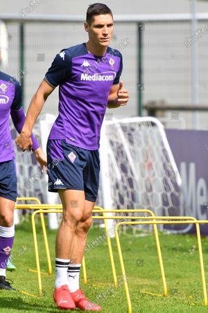 A.c.f. Fiorentina pre-season training session - Nikola Milenkovic