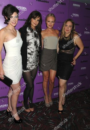Stock Image of Rebecca Lawrence, Katie Holmes, Malin Akerman, Galt Niederhoffer