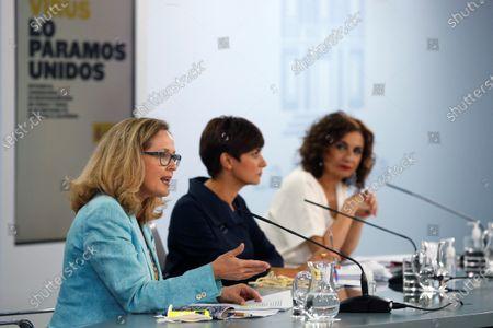 Editorial photo of Spanish Cabinet meeting, Madrid, Spain - 27 Jul 2021