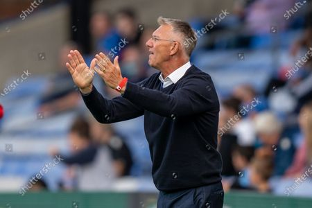 Charlton Athletic manager Nigel Adkins during  the Pre-Season Friendly match between Crystal Palace and Charlton Athletic at Selhurst Park, London
