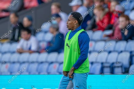 Stock Image of Crystal Palace substitute Crystal Palace defender Nathaniel Clyne (17) during the Pre-Season Friendly match between Crystal Palace and Charlton Athletic at Selhurst Park, London