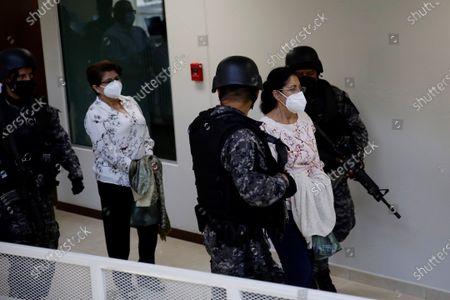 Editorial photo of Court installs hearing against 10 former Salvadoran officials for corruption, San Salvador, El Salvador - 27 Jul 2021