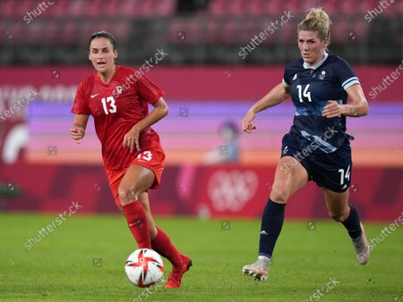 Stock Image of Evelyne Viens and Millie Bright