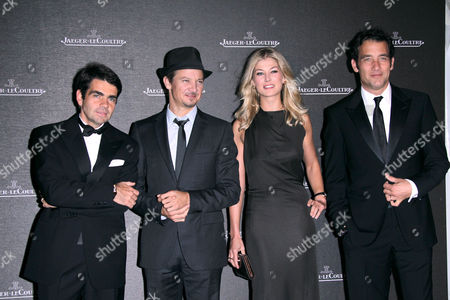 Jerome Lambert, Jeremy Renner, Rosamund Pike and Clive Owen