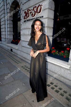 Editorial image of Lady Nadia Essex '101 Tips For Dating After A Pandemic' book launch, London, UK - 27 Jul 2021