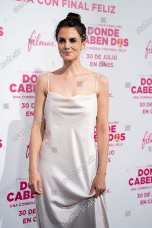 Melina Matthews attends the 'Donde Caben Dos' premiere at Palacio de la Prensa Cinema in Madrid.