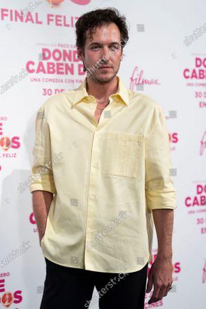 Jorge Suquet attends the 'Donde Caben Dos' premiere at Palacio de la Prensa Cinema in Madrid.