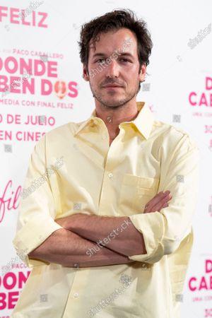 Stock Photo of Jorge Suquet attends the 'Donde Caben Dos' premiere at Palacio de la Prensa Cinema in Madrid.