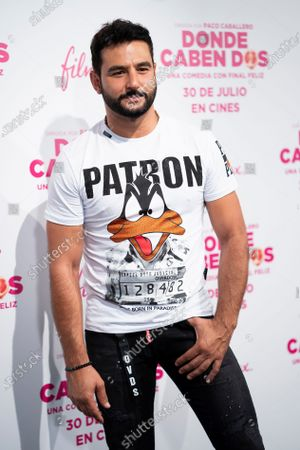 Stock Photo of Antonio Velazquez attends the 'Donde Caben Dos' premiere at Palacio de la Prensa Cinema in Madrid.
