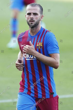 Miralem Pjanic (Barcelona) - Football / Soccer : Friendly match between FC Barcelona 4-0 Nastic Tarragona at the Estadi Johan Cruyff in Sant Joan Despi, Spain.