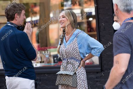 Stock Picture of Michael Patrick King, Sarah Jessica Parker
