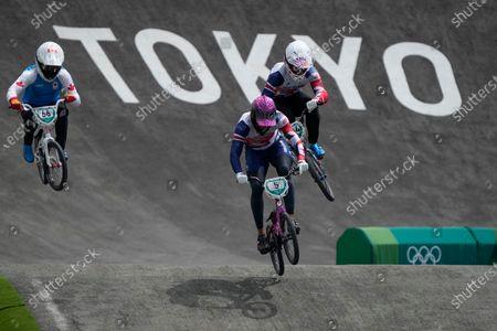 Editorial photo of Olympics BMX Cycling, Tokyo, Japan - 28 Jul 2021