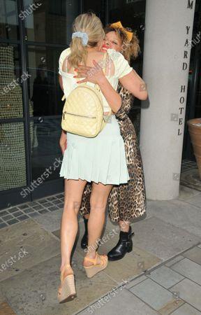 Olivia Cox and Pandora Christie