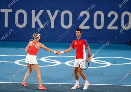 Editorial image of Olympic Games 2020 Tennis, Tokyo, Japan - 28 Jul 2021