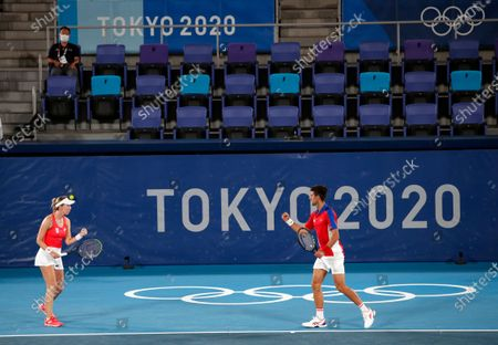 Editorial picture of Olympic Games 2020 Tennis, Tokyo, Japan - 28 Jul 2021