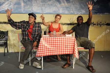 Tom Greaves, Gemma Atkinson and Okezie Morro