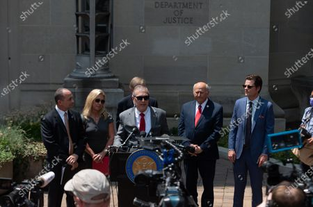 Editorial image of Marjorie Taylor Greene, Matt Gaetz, Paul Gosar And Other House Republicans Hold Press Conference, Washington Dc, United States - 27 Jul 2021