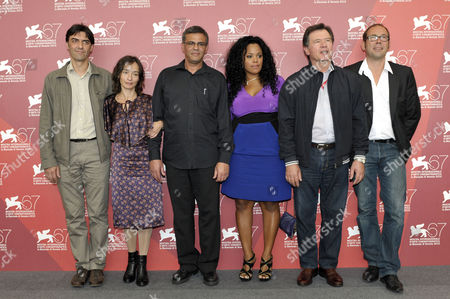 Michel Gionti, Elina Lowenshon, Director Abdellatif Kechiche, Yahima Torres, Andre Jacobs, Olivier Gourmet