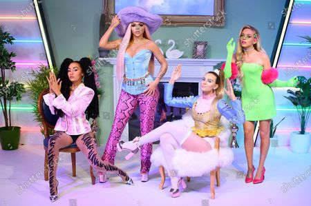 Madame Tussauds London unveils their hotly anticipated Little Mix figures, London