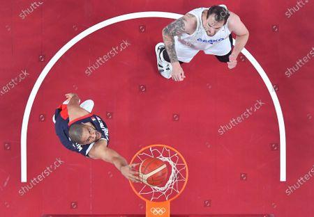 Editorial photo of Japan Saitama Oly Basketball Men's Preliminary - 28 Jul 2021