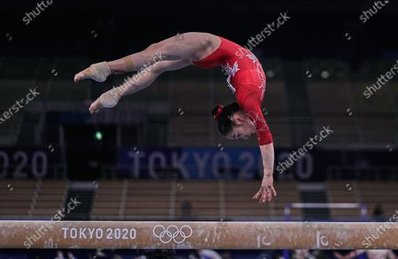Editorial picture of Gymnastics, Artistic, Tokyo Olympic Games, Day 2, Tokyo, USA - 25 Jul 2021
