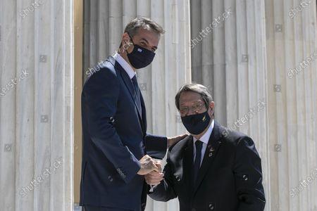 Editorial picture of Cyprus Jordan Summit, Athens, Greece - 28 Jul 2021