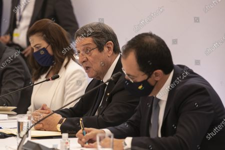 Editorial image of Cyprus Jordan Summit, Athens, Greece - 28 Jul 2021
