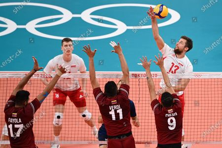 Editorial photo of Olympic Games 2020 Volleyball, Tokyo, Japan - 28 Jul 2021