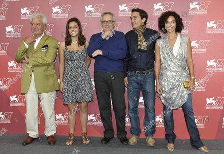 Gianni Schicchi, Elena Bellocchio, the director Marco Bellocchio, Pier Giorgio Bellocchio, Valentina Bardi