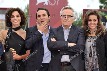 Valentina Bardi, Pier Giorgio Bellocchio, the director Marco Bellocchio, Elena Bellocchio