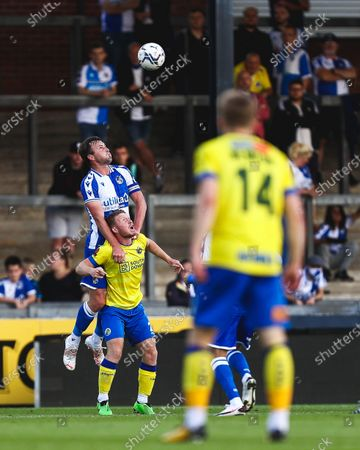 Stock Picture of Mark Hughes of Bristol Rovers heads the ball- Mandatory by-line: Will Cooper/JMP
