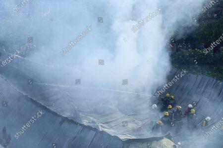 Fire at furniture factory, Kathmandu