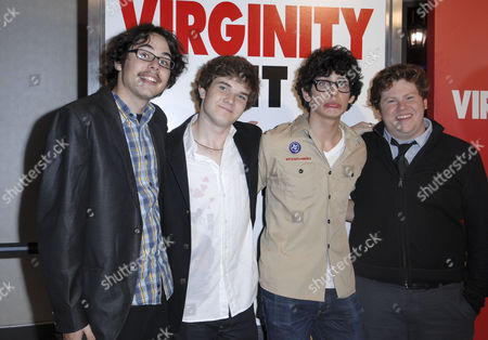 Justin Kline, Jacob Davich, Matt Bennett and Zack Pearlman