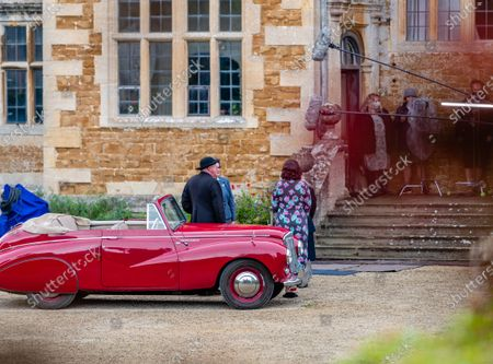 Editorial picture of 'Father Brown' TV show on set filming, Chastleton House, Oxfordshire, UK - 28 Jul 2021