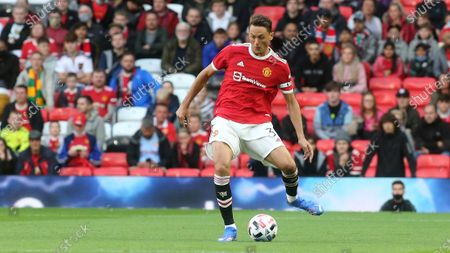 Stock Picture of Nemanja Matic of Manchester United in action during Manchester United vs Brentford, Friendly Match Football at Old Trafford on 28th July 2021