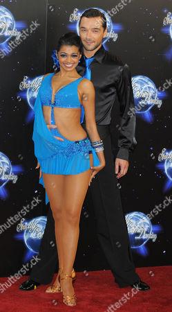 Stock Photo of Tanya Perera and Shem Jacobs