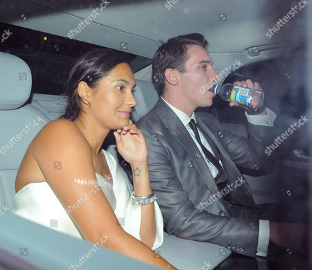 Reena Hammer and Jonathan Rhys Meyers